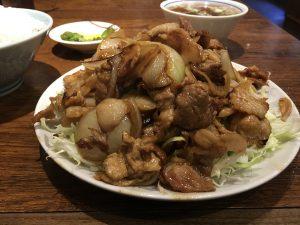 栄華さん肉ライスアップ