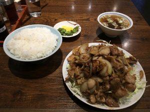 栄華さん肉ライス